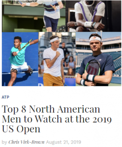 Top 8 North American Men To Watch Out For