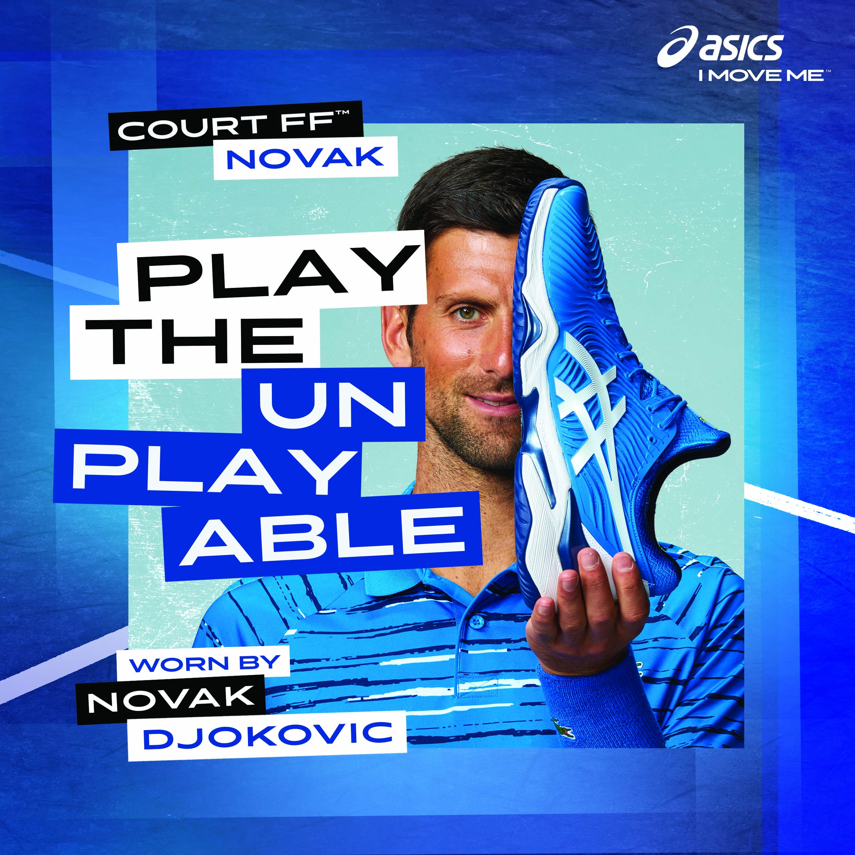ASICS Court FF Novak US Open Tennis Shoes