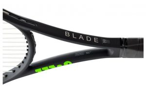 Wilson Blade v7 16x19 throat shot