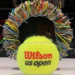 Artsy String and Tennis Ball