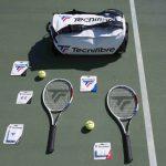 Tennis Gear Essentials Blog Thumbnail with Tecnifibre