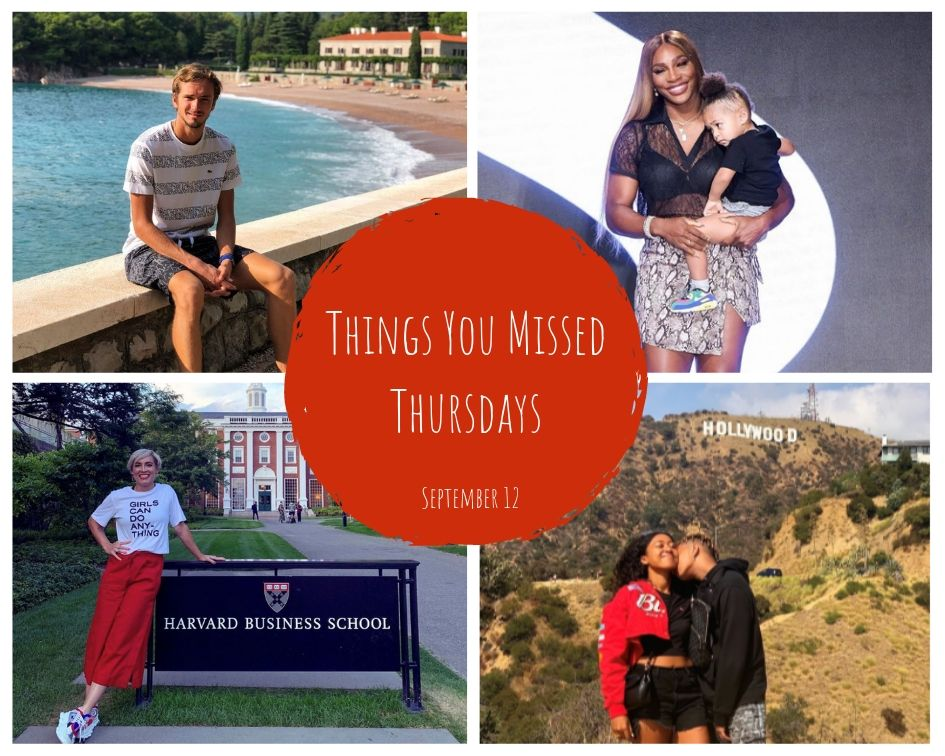Things You Missed Thursdays – Sept 12