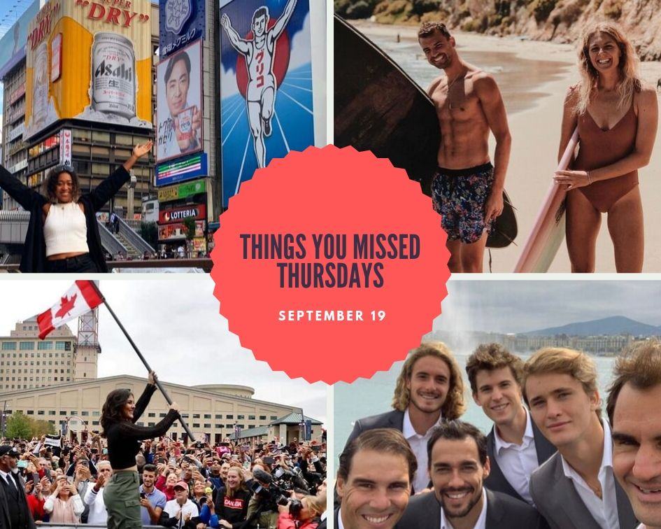 Things You Missed Thursdays – Sept 19
