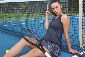 Lija Zest For Life tennis outfit