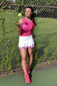 Lucky In Love Tropic Chroma Tennis Outfit