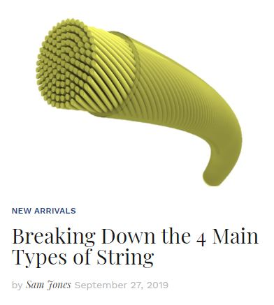 4 Main Types of Strings Thumbnail