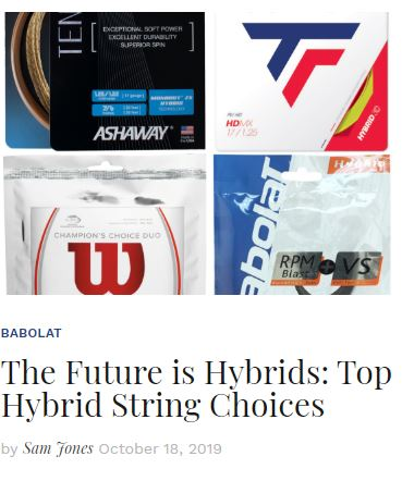 Top Hybrid String Choices Blog Snippet