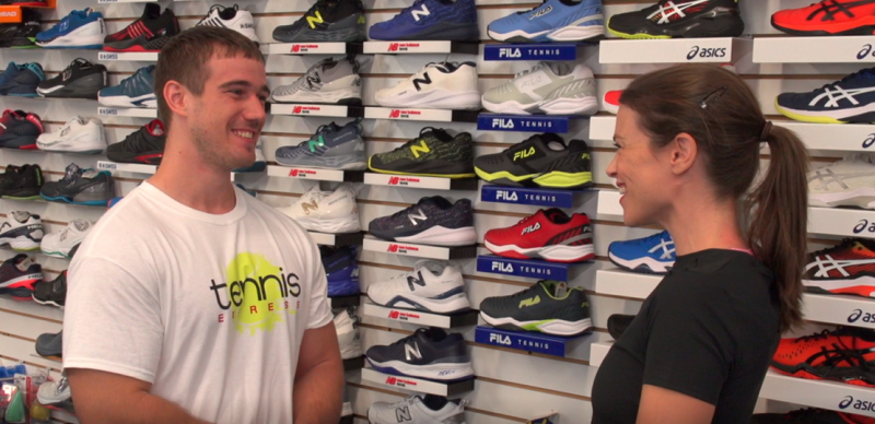Chris: Tennis Express Shoe Expert