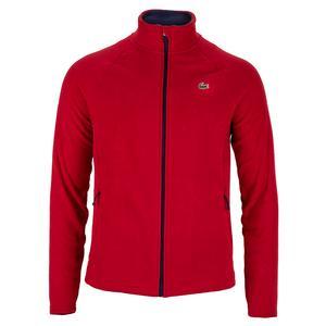 Lacoste Men's Novak Djokovic Tennis Fleece Jacket