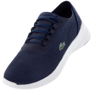Lacoste Men's LT Fit 119 Shoes Navy and White