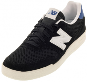 New Balance Men's 300 Lifestyle Shoes Black and White