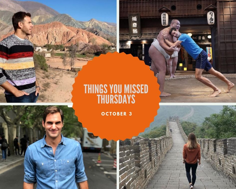Things You Missed Thursdays – Oct 3