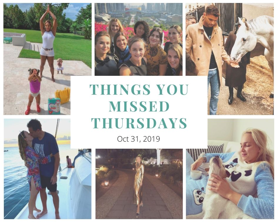 Things You Missed Thursdays – Oct 31