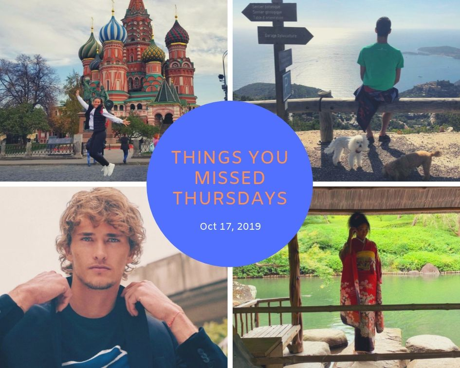 Things You Missed Thursdays – Oct 17