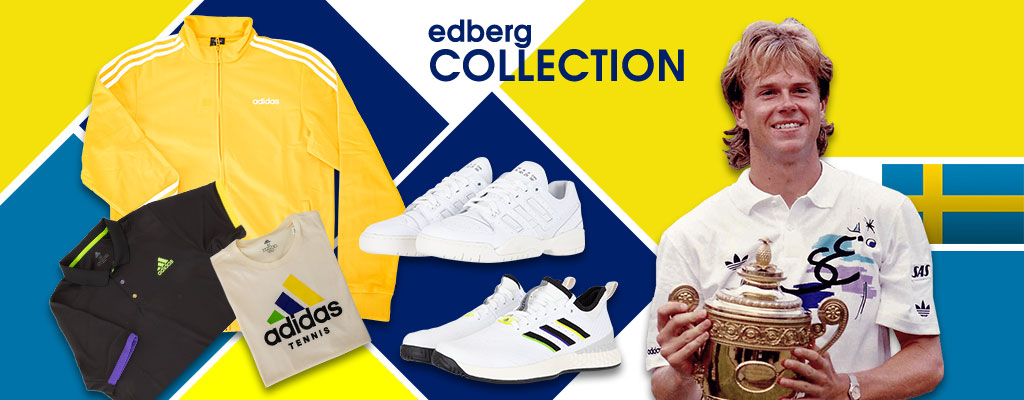 Adidas' Stefan Edberg Tennis Shoes and Apparel