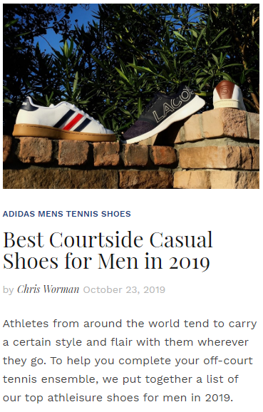 Best Courtside Casual Shoes for Men in 2019