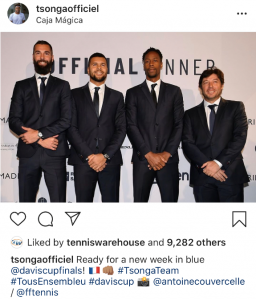 Paire, Tsonga and Monfils