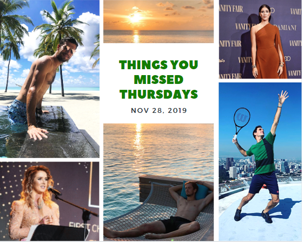 Things You Missed Thursdays – Nov 28