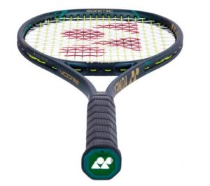 Yonex VCore Pro 97HD Tennis Racquet laid down