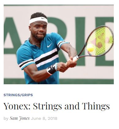Yonex Strings and Things Blog Snippet