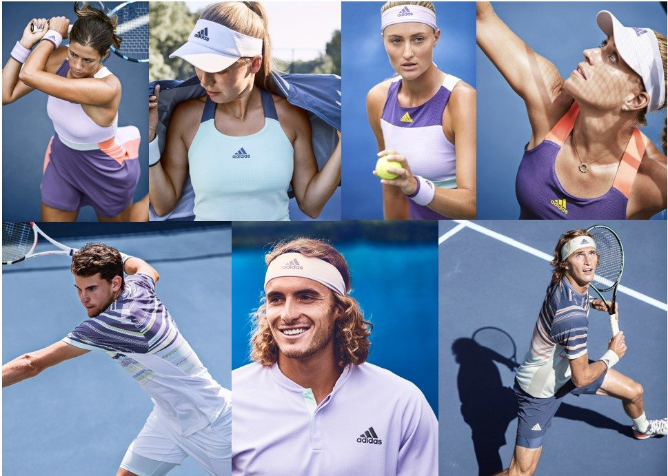 Adidas HEAT.RDY Apparel Collection with Adidas Tennis Pros