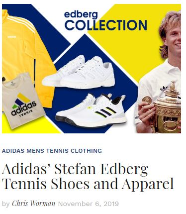 Adidas Stefan Edburg Collection Blog