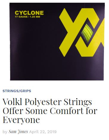 Volkl Polyester Strings Blog Snippet