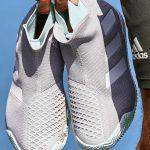 Adidas Mens Stycon Laceless Tennis Shoe