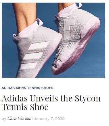 Adidas Stycon Tennis Shoe Blog Snippet