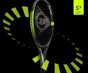 Dunlop SX Tennis Racquet Graphic
