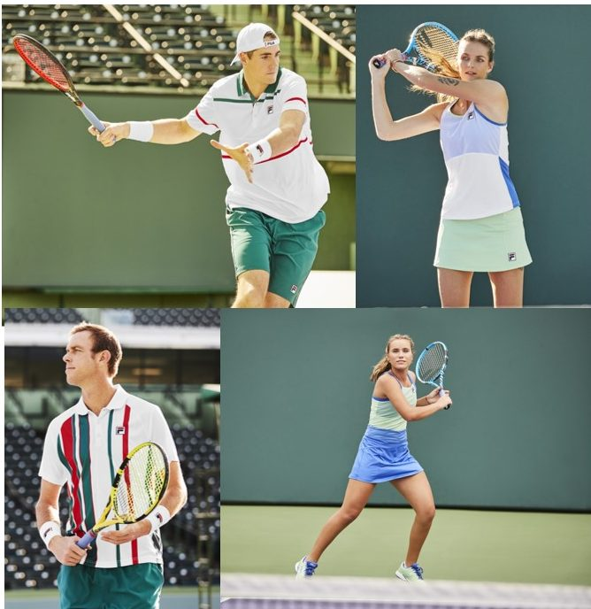 Perfect Your Palette in New Fila Legend and Colorful Play Collections