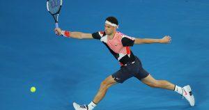Grigor Dimitrov Australian Open 2020