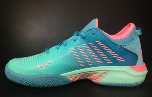 K-Swiss Hypercourt Supreme Tennis Shoes Medial Side