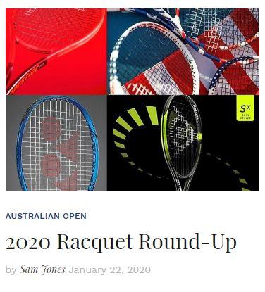 2020 Tennis Racquet Round up Blog Snippet