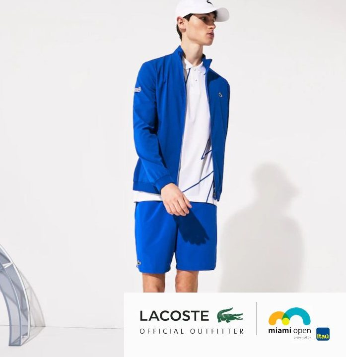 Sunshine Double: Lacoste and Miami Open Exclusive Tennis Apparel