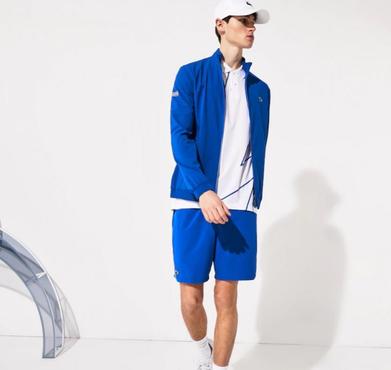 Model in Novak Djokovic Lacoste Miami Open and Indian Wells Outfit