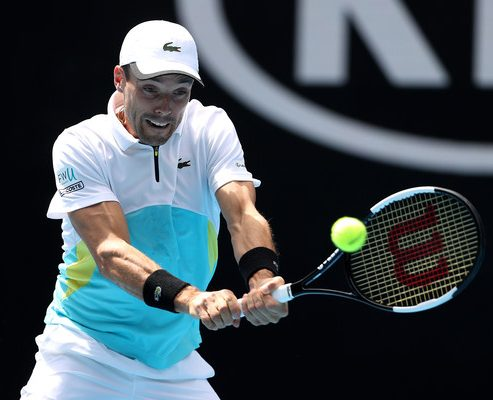 Roberto Bautista Agut on Day 5 at the 2020 Australian Open (Jan. 23, 2020 - Source: Getty Images AsiaPac)