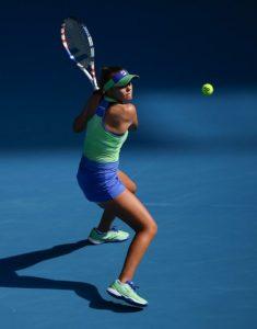 Sofia Kenin in Fila Apparel at the 2020 Australian Open