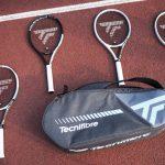 Tecnifibre T-Rebound Tempo 3 Tennis Racquets with Tempo 6R Tennis Bag