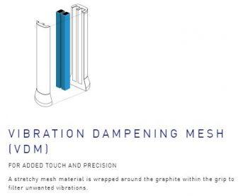 Yonex Vibration Dampening Mesh Technology