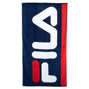 Fila flag beach towel