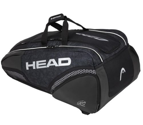Head Djokovic 12R Monstercombi Tennis Bag All Black