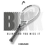 Head Graphene 360+ Speed Pro Tennis Racquet with Tagline