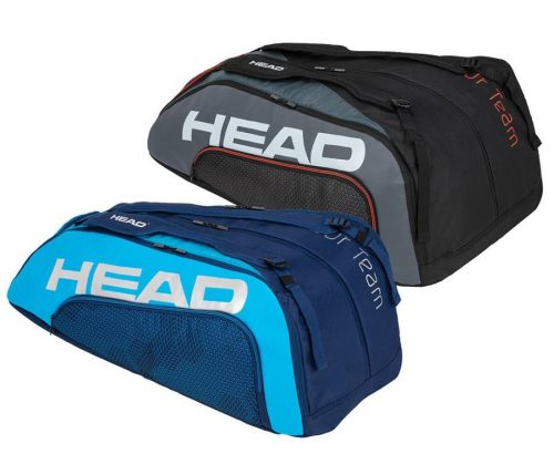 Head Tour Team 12R Monstercombi Tennis Bag Blue and Black