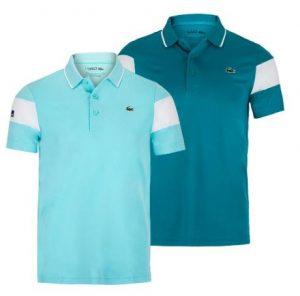 Lacoste Men's Miami Open Co Brand Color Block Tennis Polo
