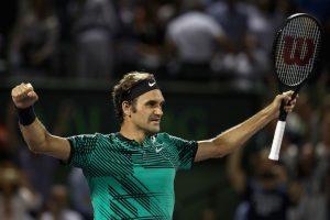 Roger Federer always looks sharp on the court