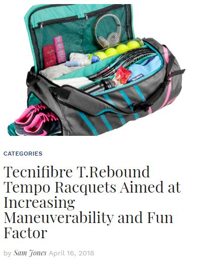 Tecnifibre T-Rebound Tempo 2 Racquet Blog