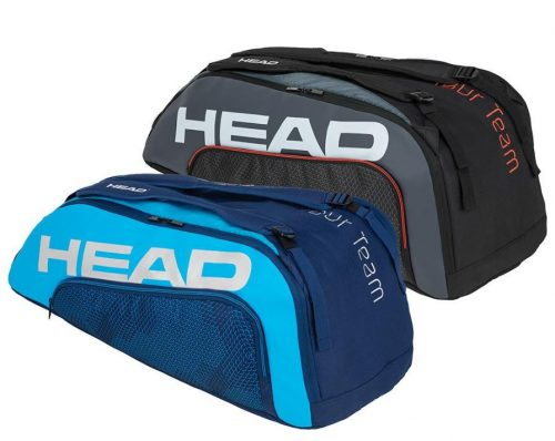 Head Tour Team 9R Tennis Bag Blue and Black