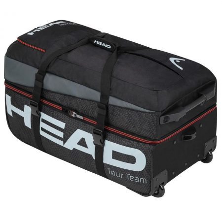 Head Tour Team Travel Bag Black and Gray