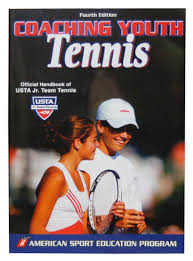 Coaching Youth Tennis book cover